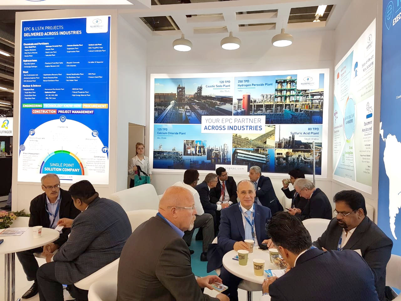 Discussions at ACHEMA 2018
