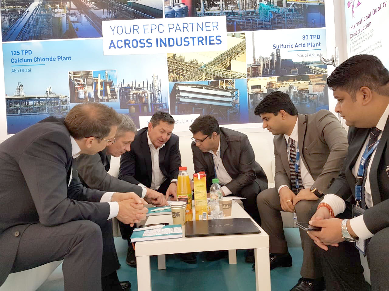 Discussions at ACHEMA 2018-3