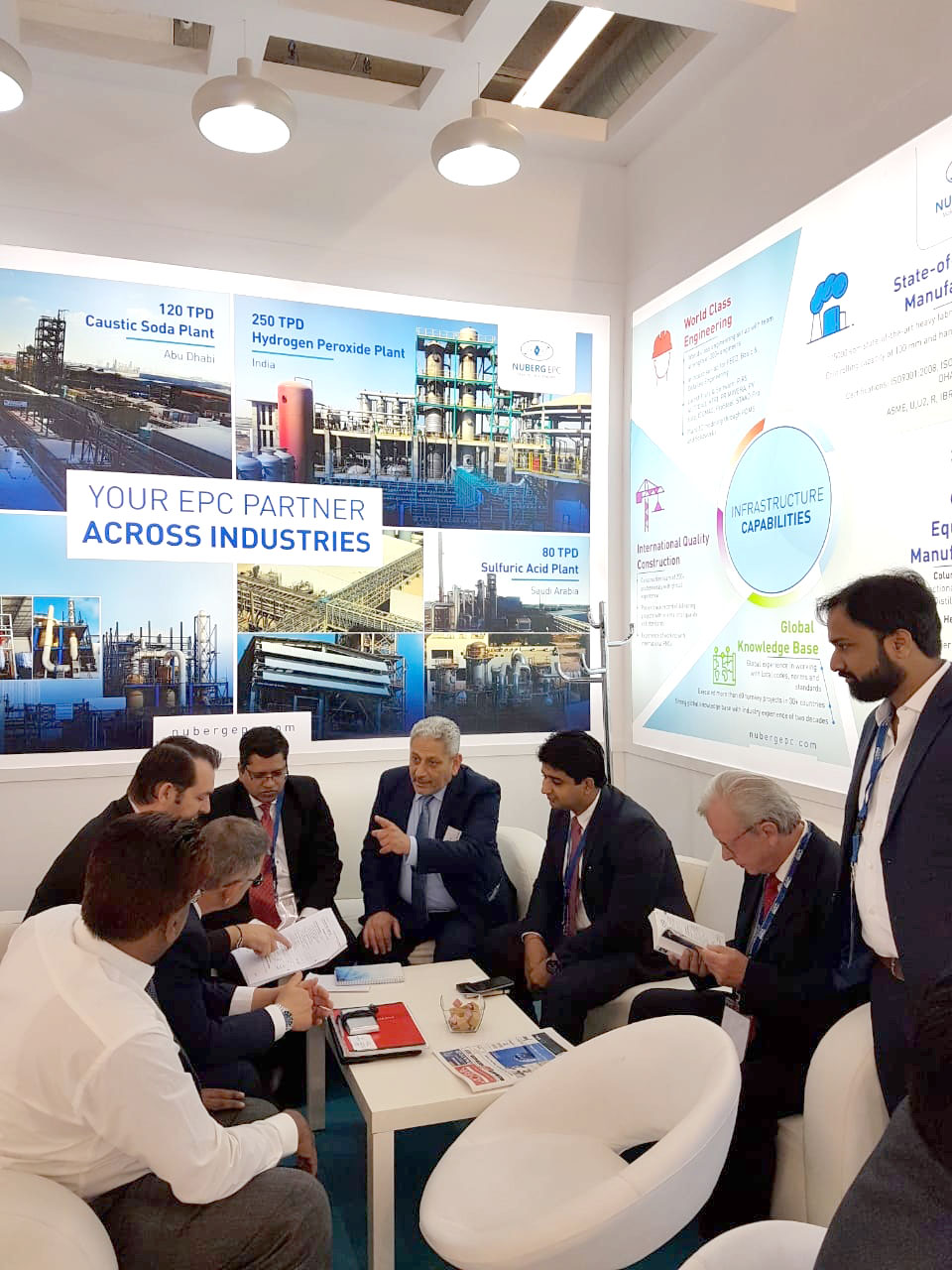 Discussions at ACHEMA 2018-4