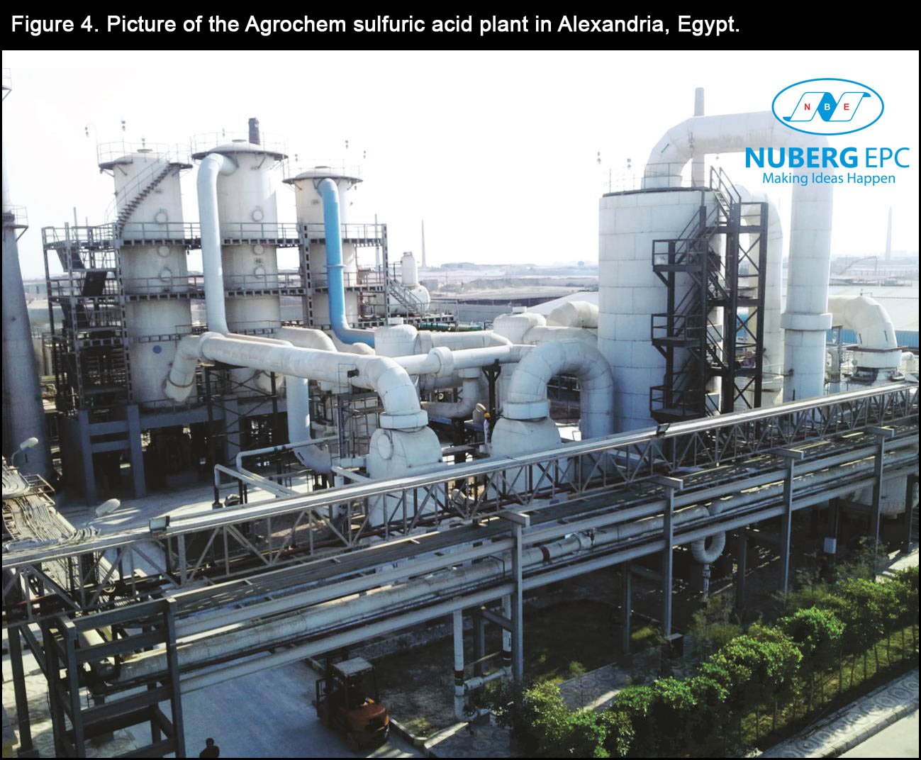 Agrochem sulfuric acid plant in Alexandria, Egypt