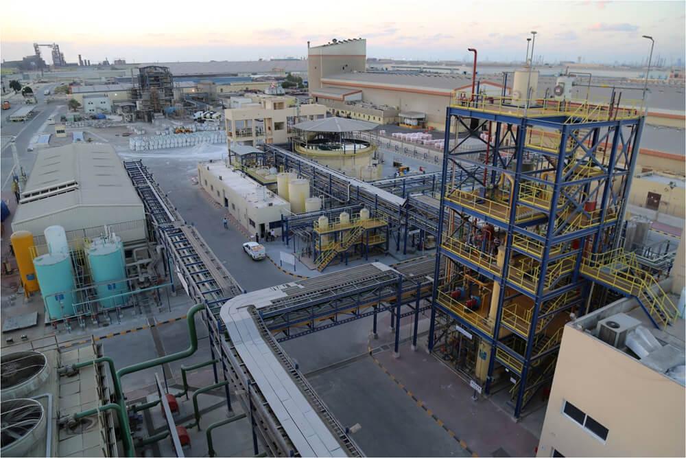 Caustic Soda Plant – Al Ghaith Industries, Abu Dhabi