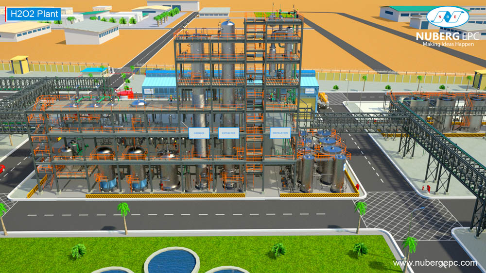 Nuberg wins Hydrogen Peroxide Plant Turnkey Project plant in EGYPT