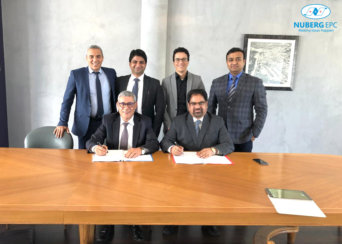 Nuberg EPC Wins Chlor-Alkali plant EPC Contract in Morocco